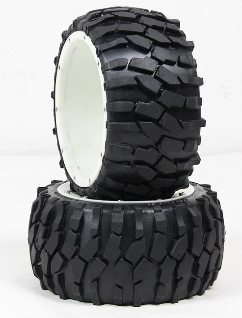 BAJA 5B high-strength nylon wheels gravel tire rear tire assembly 95211 freeshipping baja high strength nylon a arm group front and rear