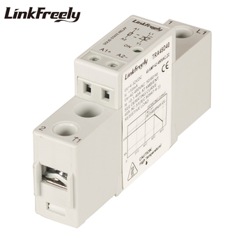 TRA48D40 10pcs 40A Single Phase Solid State Relay 5V 12V 24V 32VDC In Out 42-480VAC Electrical Voltage SSR Relay Module DC AC