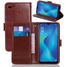 GUCOON クラシック財布ケース oppo A1k A7X AX7 プロカバー Pu レザーヴィンテージフリップケースファッション電話バッグシールド