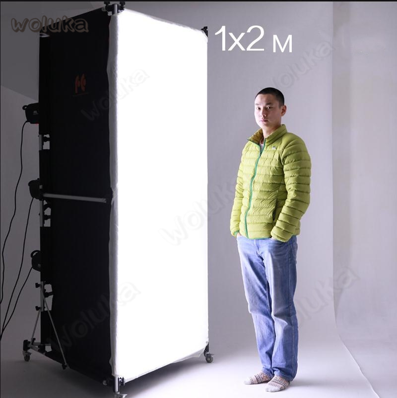 Falconeye 1x2m Large Softbox With Pulley Can Be Moved Soft Light Column Large Softbox Photo Box Soft Screen SBC-1020  CD50 T06