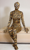 Hot Sale High Quality Camouflage Lycra Spandex Tights Fetish Zentai Unisex Suits Classic Halloween Costumes
