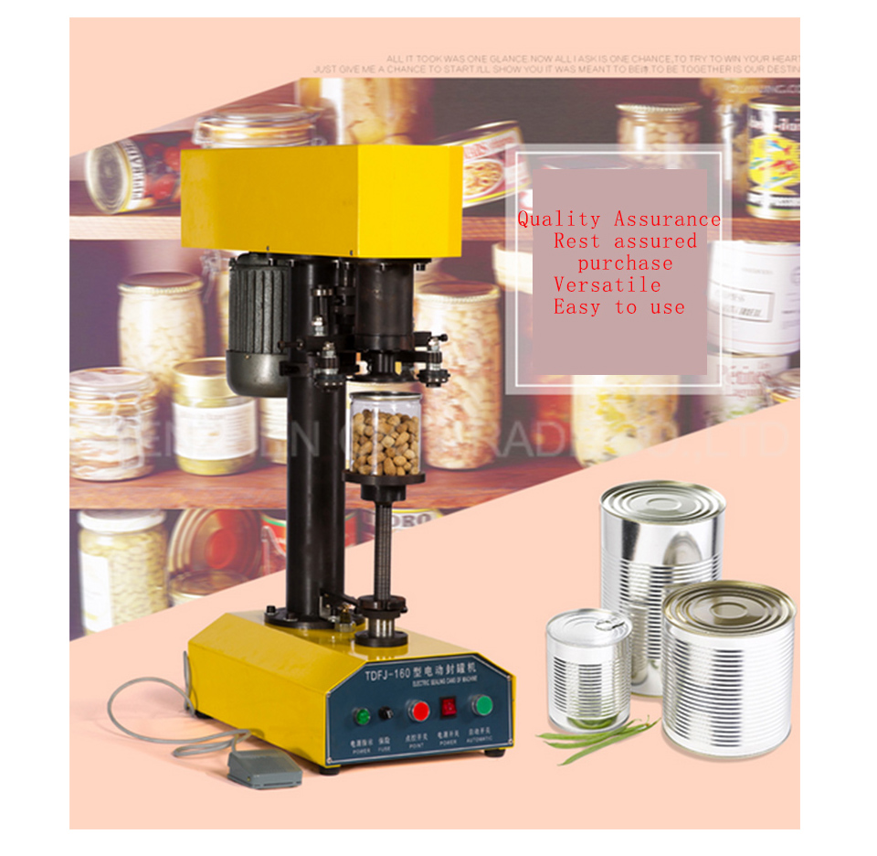 Free shippingbyTDFJ-160 Desk-top automatic container capping machine,cans sealing machine,paper cansk,cover pot metal machine  цены