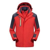 Winter Waterproof Hiking Jacket Women Men Soft shell Fleece Outdoor Sport Thermal Brand Coat Camping Trekking Skiing Jackets Men