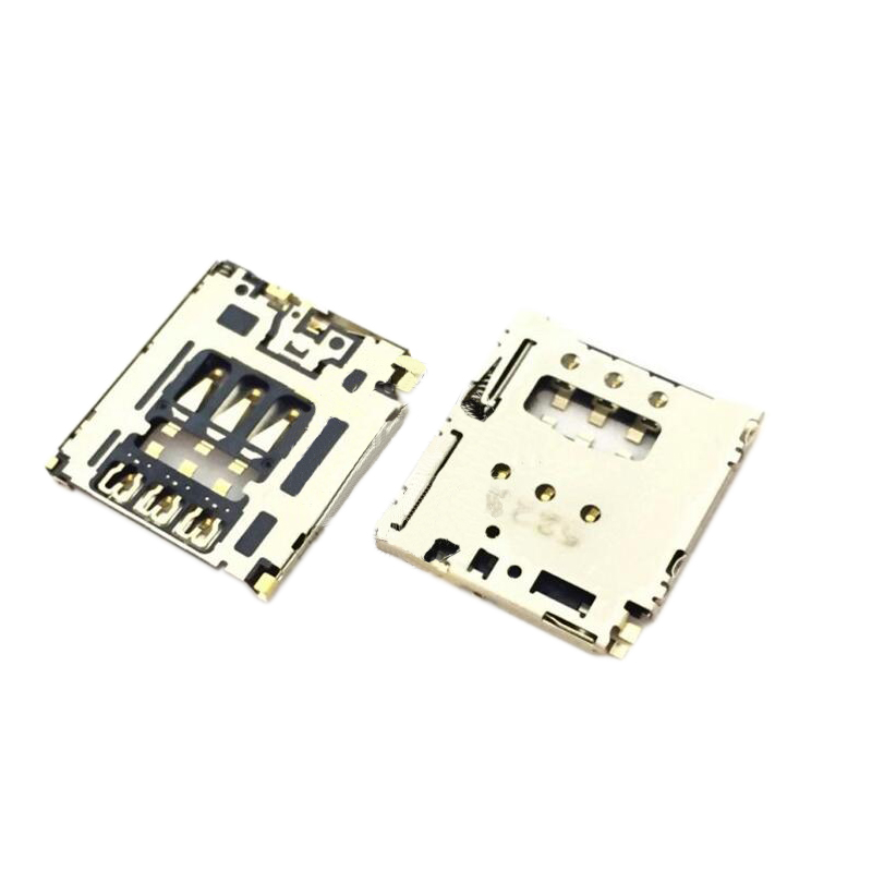 NWT Genuine Sim Card Slot For Sony Xperia T3 D5102 D5103 D5106 Sim Card Tray For Sony T3 M50W Sim Card Reader Holder Replacement