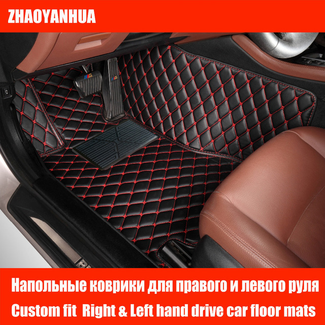 Custom Fit Car Floor Mats For Bmw 6 Series E63 E64 F06 F12 F13 630i 630ci 640i 645ci 650i 636d 640d 6d Styling Carpet Liner