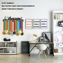 DDJOPH AWESOME medal hanger Sport holder for swimming,running,cycling,gymnastics medals
