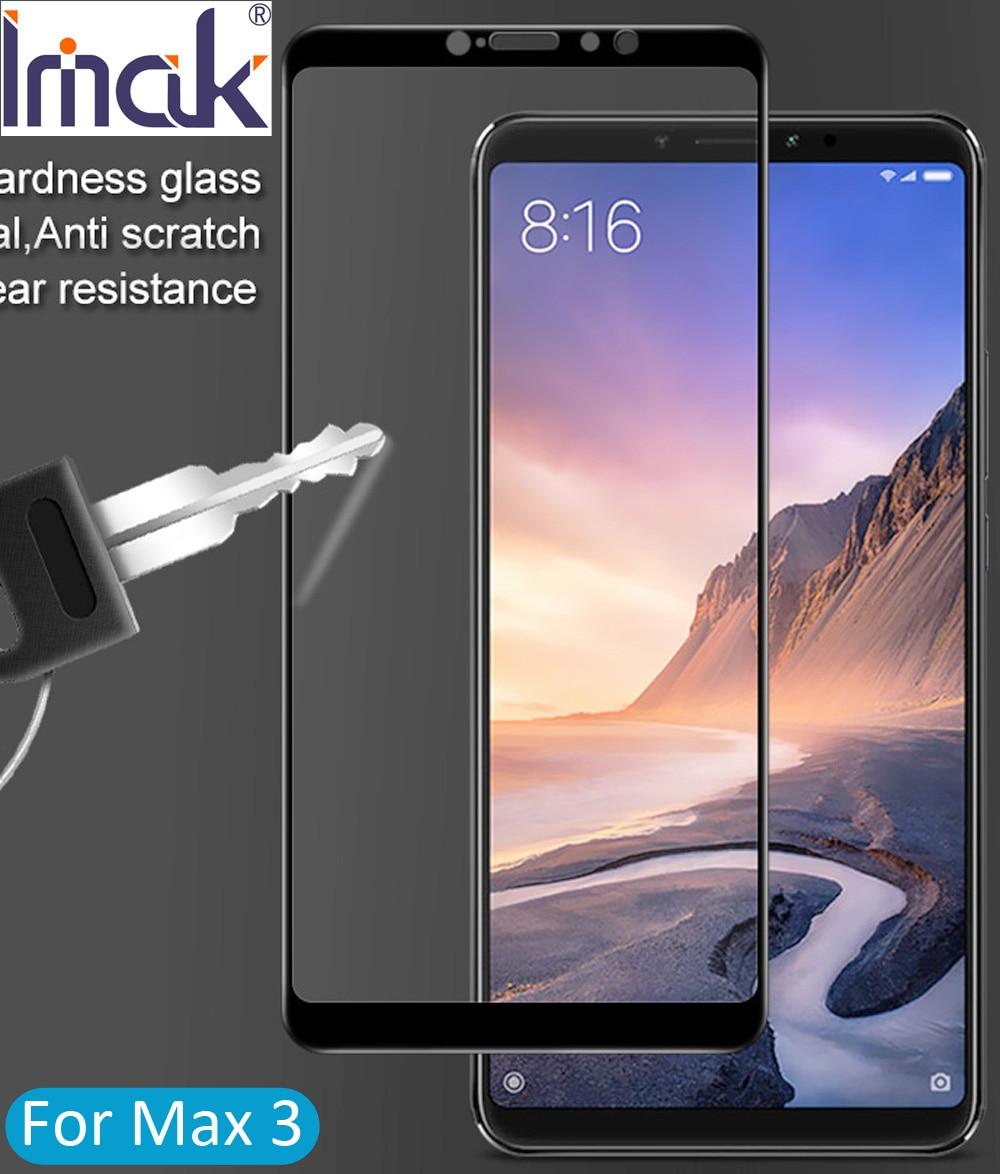 Imak Full Abdeckung Aus Gehrtetem Glas Fr Xiao Mi Max3 Max 3 Xiaomi Redmi Note 5 Note5 Tempered Glass Color 25d Cover Gebogene Oleophobe