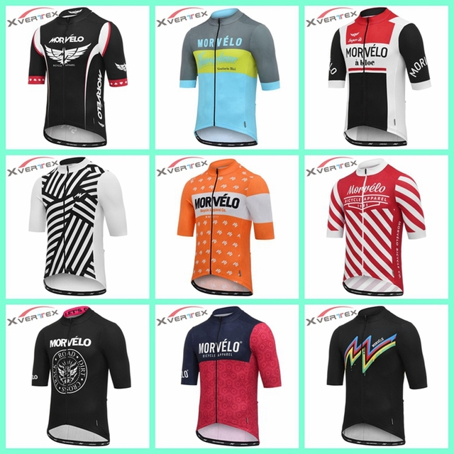 Ropa de ciclismo retro 2019 MORVELO cycling Jersey Roupa ciclismo hombres MTB  shirts Road bike Racing clothing Multiple styles 20c783e2f