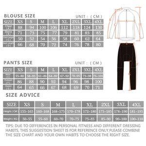 Image 5 - Мужской комплект одежды для велоспорта Rock, весна осень 2019, дышащая одежда для велоспорта с защитой от УФ лучей и длинным рукавом, комплекты из Джерси для велоспорта