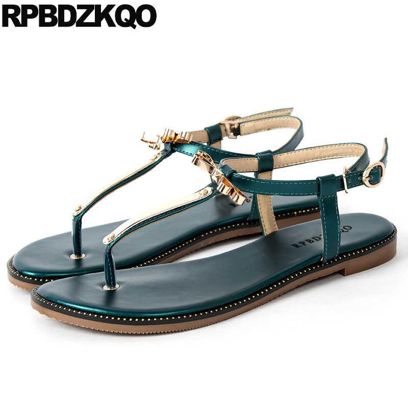 016e427c780416 Designer Kawaii Shoes Summer Cute Women Sandals Flat 2018 T Strap Ladies  Nice Cheap Bowtie Bow