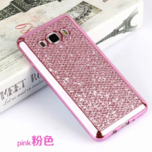 Glitter diamond  Silicone Cases For Samsung Galaxy S8 Plus S6 S7 Edge A3 A5 A7 2017 J1 J3 J5 J7 2016 Grand Prime Soft TPU Case