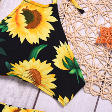 Baby Girls Sunflower Clothes Outfit Set Summer