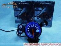 HB 80mm DEFI Tachometer Stepper Motor BF Style RPM Gauge Blue Led With Shift Light