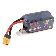 iFlight FullSend 22.2V 6S 1250mAh 80C XT30U-F Lipo Battery XT30 Plug for RC FPV Racing Drone Parts Li-poly RC Battery