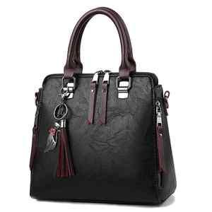 Image 4 - Sac à main en cuir PU pour femmes, sac de luxe à épaule de marque célèbre, sacoche à bandoulière de grande capacité, fourre tout décontracté LB753