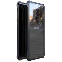 High end ultra thin metal frame Tempered glass mirror shell For Samsung galaxy S9 PLUS case cover