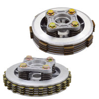 Motorcycle Clutch Friction DIsc Center Outer Clutch Assy for Honda KYY125 WH125 12 SDH125 13 CB125 WH125 12A