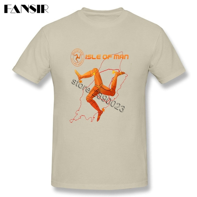 Motorcycle Isle Of Man TT Logo Shirt Latest Designing Men T-shirt Short Sleeve 100% Cotton O Neck T-shirt For Adult