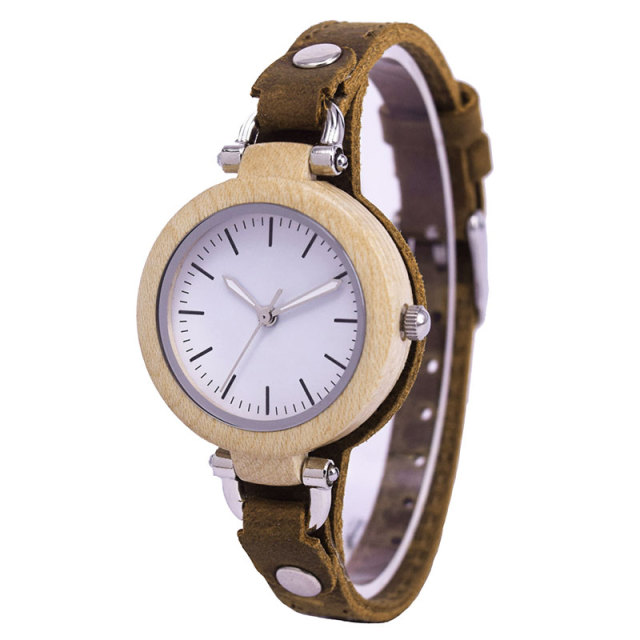 Women's Wooden Watch Ladies Girls Brand Luxury Female Quartz Wrist Watches Montre Femme Clock Relogio Feminino Drop Shipping 2