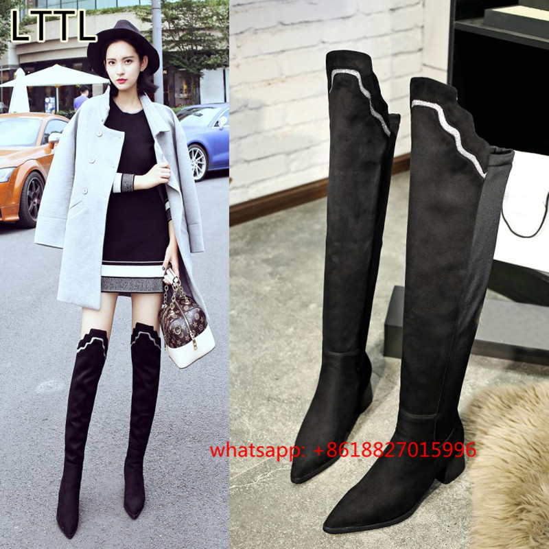 Popular Mid Thigh Boots-Buy Cheap Mid Thigh Boots lots from China ...