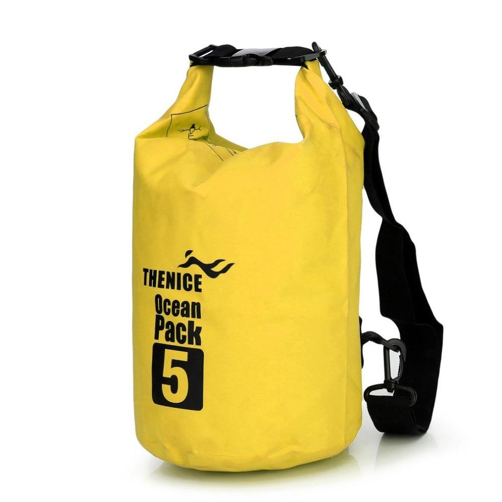 Portable Waterproof Storage Dry Bag Outdoor Equipment Travel Kit Ultralight Camping Hiking Drifting Kayaking Swim Organizer NEW