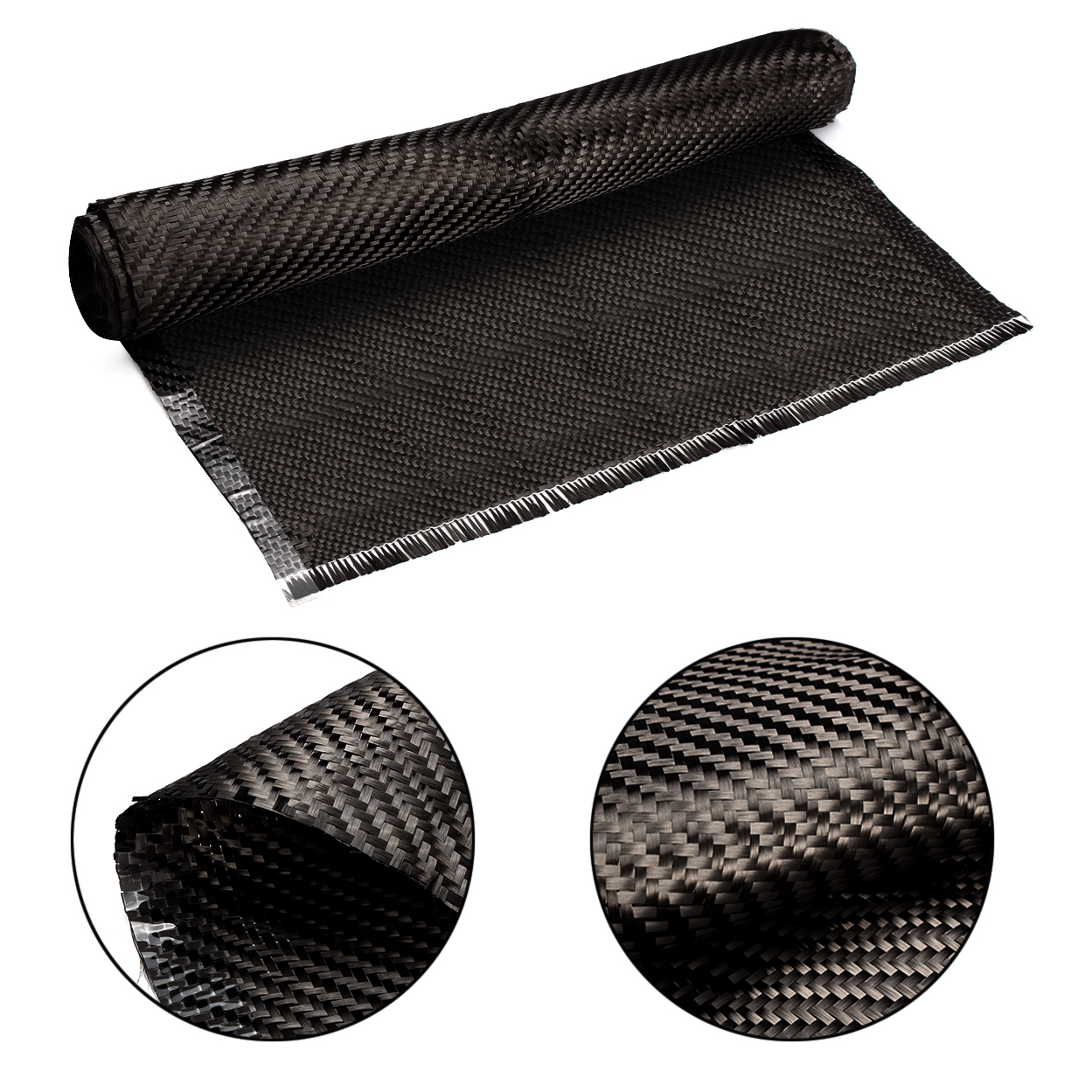 Real Carbon Fiber Fabric 32/82cm width 3K 5.9oz / 200gsm 2x2 twill Carbon Fabric for Commercial Car Parts Sport Equipments