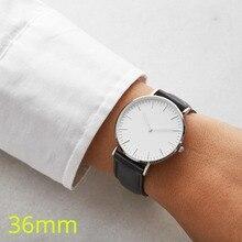 BORONG Элитный бренд для женщин наручные часы женские часы 36 мм женское из нержавеющей стали Кварцевые наручные часы Relogio Feminino женские часы
