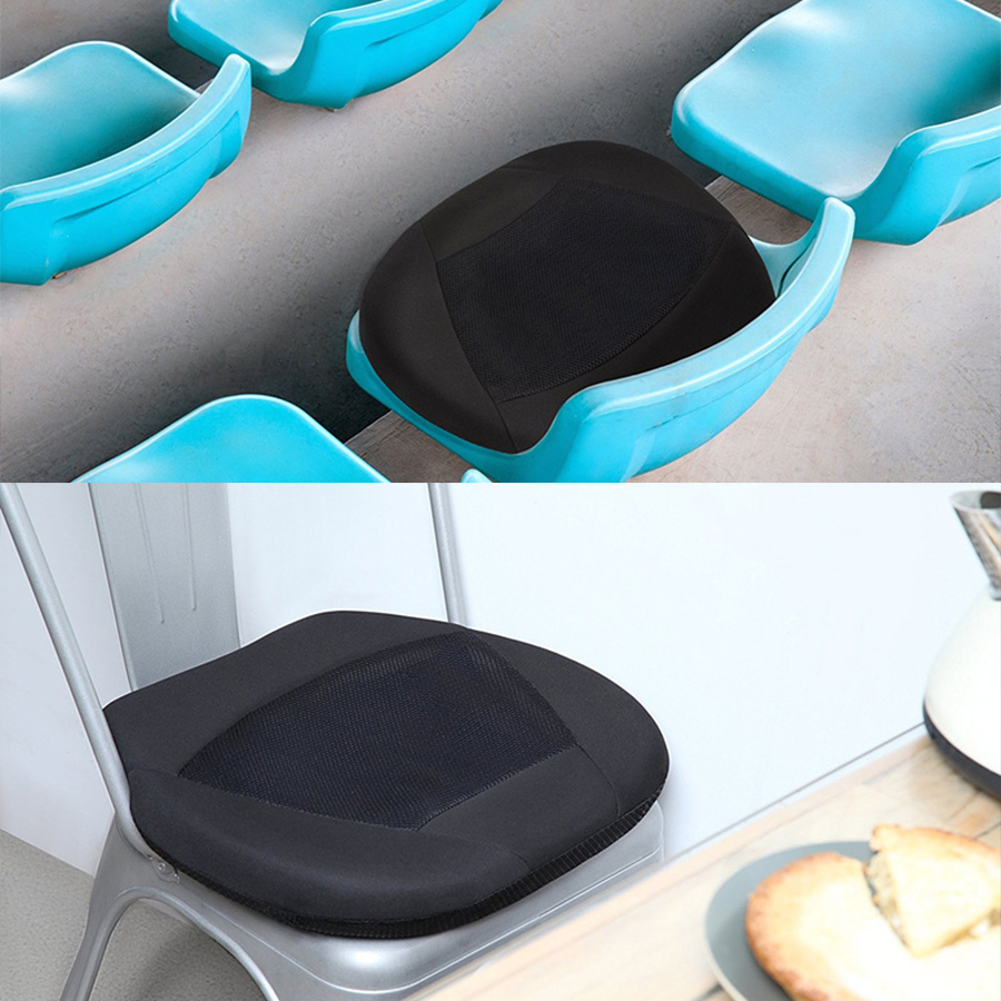 Gel Cushion For Chair With Table Memory Foam And Pad Orthopedic Seat Car Driver Or Office Stadium W Memor Reduce Back Lumbar Pain In Automobiles Covers