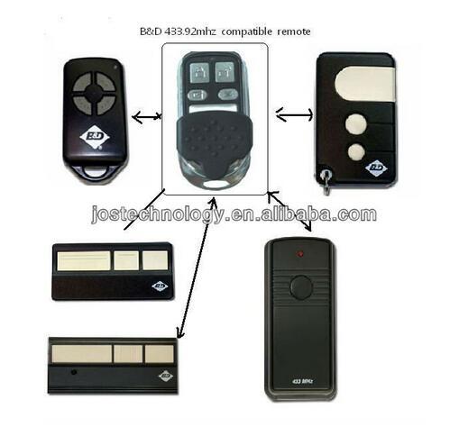 Bnd Bd Garage Doors Openers Roller Doors Replacement Remote