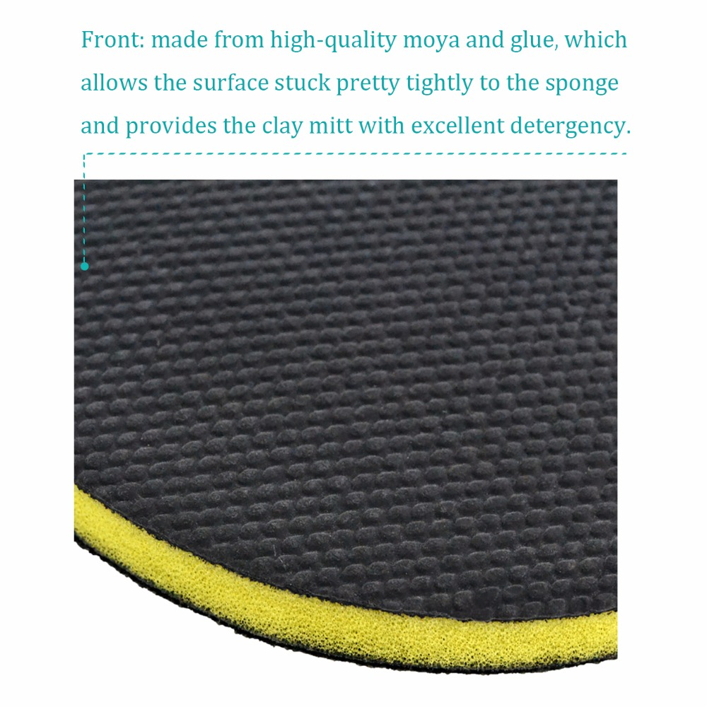 auto care fine grade 6 inch car washing magic clay sponge pad before polish wax for car. Black Bedroom Furniture Sets. Home Design Ideas