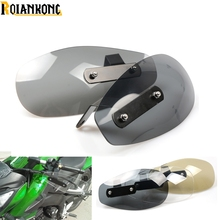 Motorcycle Accessories wind shield handle Brake lever hand guard for Kawasaki Ninja 1000 1000R 250 250R 300 300R 400R 650