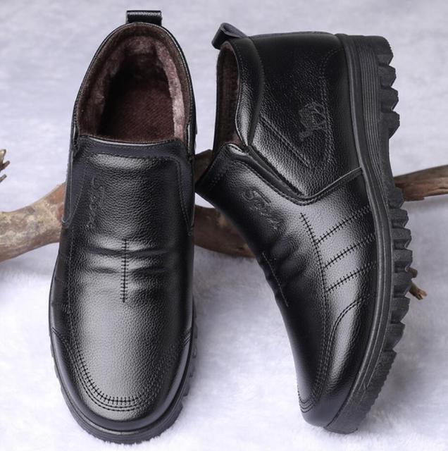 Фото ботинки мужские зимние утепленные роскошные брендовые теплые цена