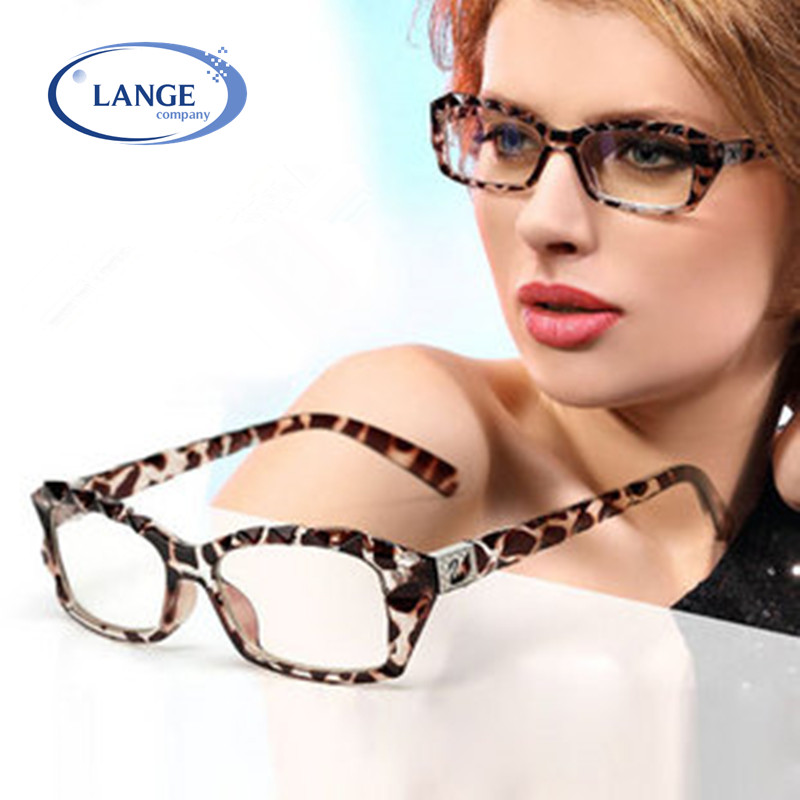 Aliexpress.com : Buy Leopard print glasses Women myopia ...