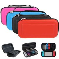 NEW 6 in 1 Hard Shell Case for Nintend Switch Water resistent EVA Carrying Storage Bag for Nitendo switch NS Console Accessories