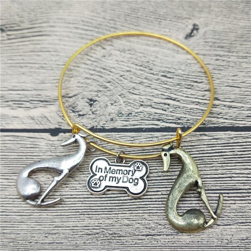 Trendy New Italian Greyhound Bangles Cute Dog Bangles Bracelets Fashion Animal Pet Jewellery