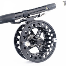 Fly Fishing Reel 2+1 Ball Bearing Alloy Fishing Reels 3/4 / 5/6 / 7/8 Left Right Fly Reel Pesca Fly Fishing Coils B161 цена