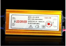 10ps Free register mail waterproof driver LED Waterproof Constant Current Driver for 3-5pcs 3W 600ma High Power light