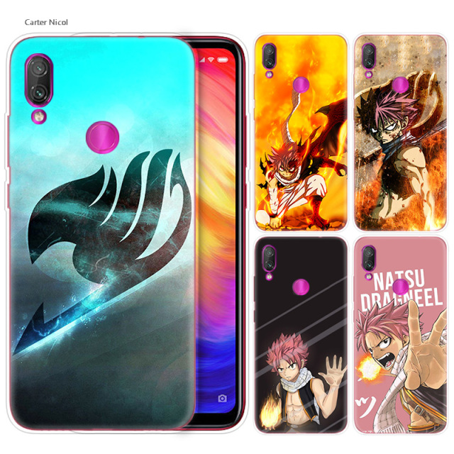 Fairy Tail Case for Xiaomi Redmi Note 7 6 5 Plus Mi A2 8 Lite Pro Prime Play