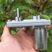 Alta calidad Takanawa 555 Motors de engranaje de Metal 12 V-24 V CC de reducción del Motor de engranajes de alto par y bajo ruido