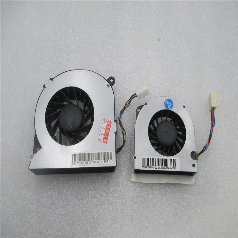 Вентилятор ЦП и графического процессора для DELL 2310 2305 2310 2205 NJ5GD DFS481305MC0T FA1C MF60140V1-C000-S99 DFS601005M30T FA10 5V