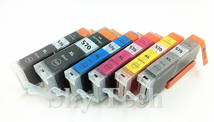 6PK संगत स्याही कारतूस PGI570XL - कार्यालय इलेक्ट्रॉनिक्स