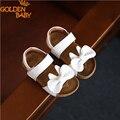 Sapatos menina sandálias de verão de couro novo design das crianças arco bonito macio do bebê sandálias meninas de verão sapatos de alta qualidade multi color