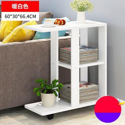 Современная гостиная диван угловой журнальный столик имитация дерева боковые шкафы прикроватный журнальный столик - Цвет: Style 5