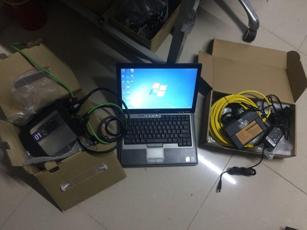 2019 mb estrela c4 e bmw icom a2 2in1 auto ferramenta de reparo em 1 TB hdd/ssd software diagnóstico instalado em d630 laptop de trabalho pronto