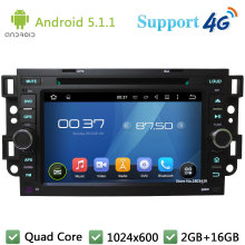 Quad Core 1024*600 Android 5.1.1 Car DVD Player Radio Stereo DAB+ 4G For Chevrolet Aveo Holden Optra Matiz Epica Captiva Barina