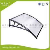 YP80100 80x100cm 80x200cm 80x300cm Outdoor Clear Door Window Awning Canopy Polycarbonate Patio Cover Rain Snow Protection
