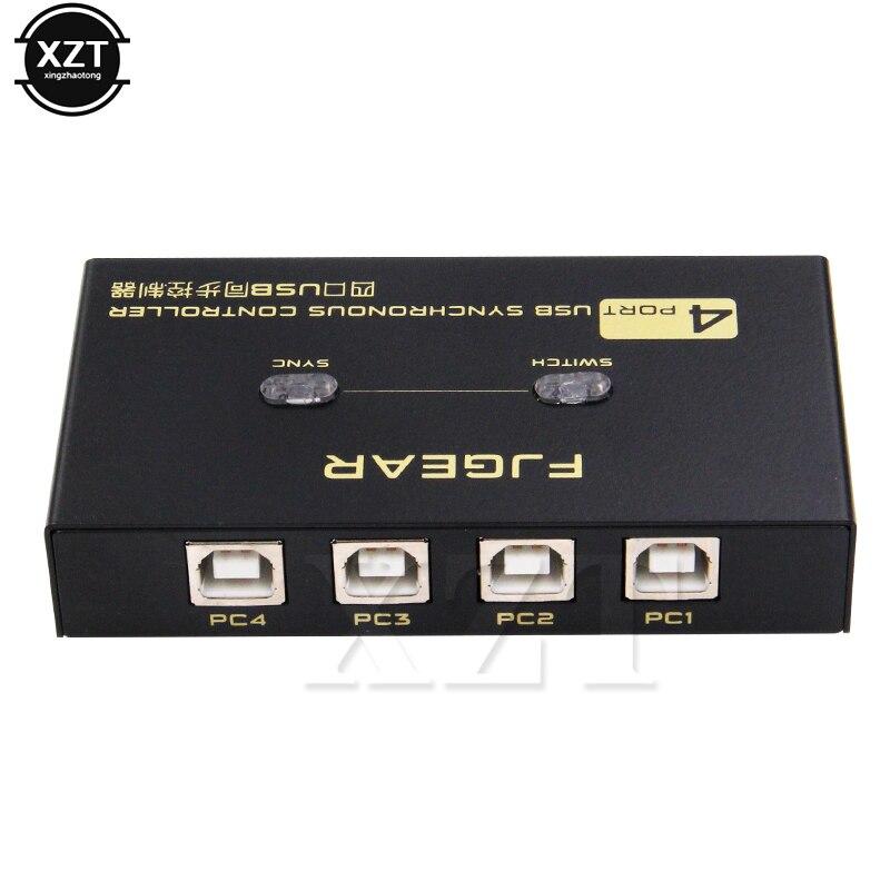 1 Stücke 8 Ports 4 Ports Kvm Switch Usb Synchronizer 8 Ports Synchronsteuerung Eine Reihe Von Tastatur/maus Control 8 StÜck 4 StÜck Neueste Ungleiche Leistung
