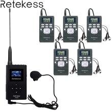 Беспроводной гид Системы 0,6 W 1 fm-передатчик TR504 + 5 FM радиоприемник PR13 для направления церкви заседании перевод Системы