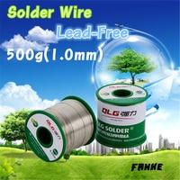 1 Pcs 450g Lead Free Solder Wire Soldering Welding Sn 0 7Cu 1 0mm
