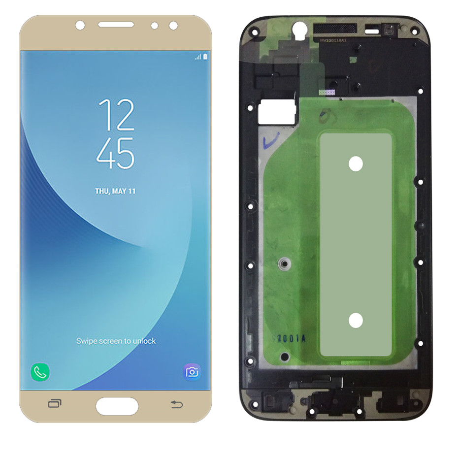 LCD For Samsung Galaxy J7 Pro 2017 J730 J730F Display SM-J730F/G/GM/FN/DS Touch Screen Digitizer Assembly Replacement Frame ToolLCD For Samsung Galaxy J7 Pro 2017 J730 J730F Display SM-J730F/G/GM/FN/DS Touch Screen Digitizer Assembly Replacement Frame Tool